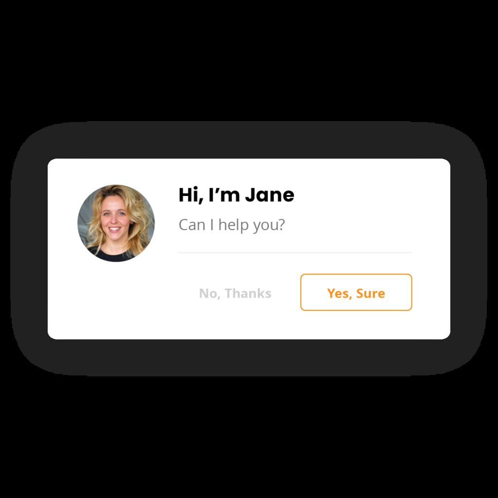 Galeria de convites para Chat