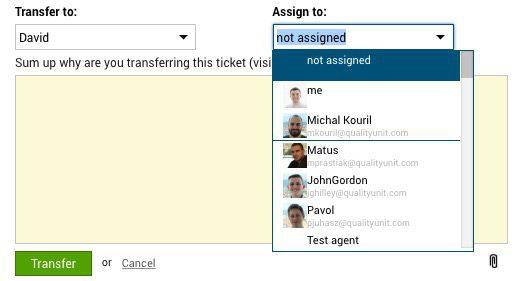 Ticket de Transferencia