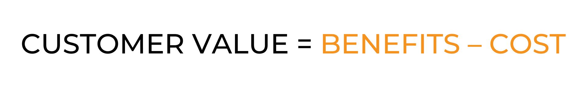 Équation de la valeur client