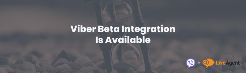 viber beta integration