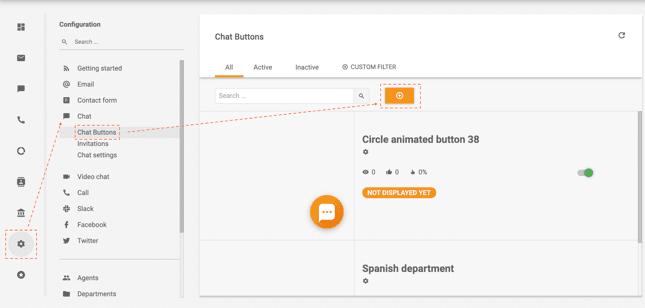 Пошаговая инструкция по созданию кнопки чата в LiveAgent
