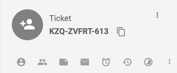 Jegy azonosító LiveAgent