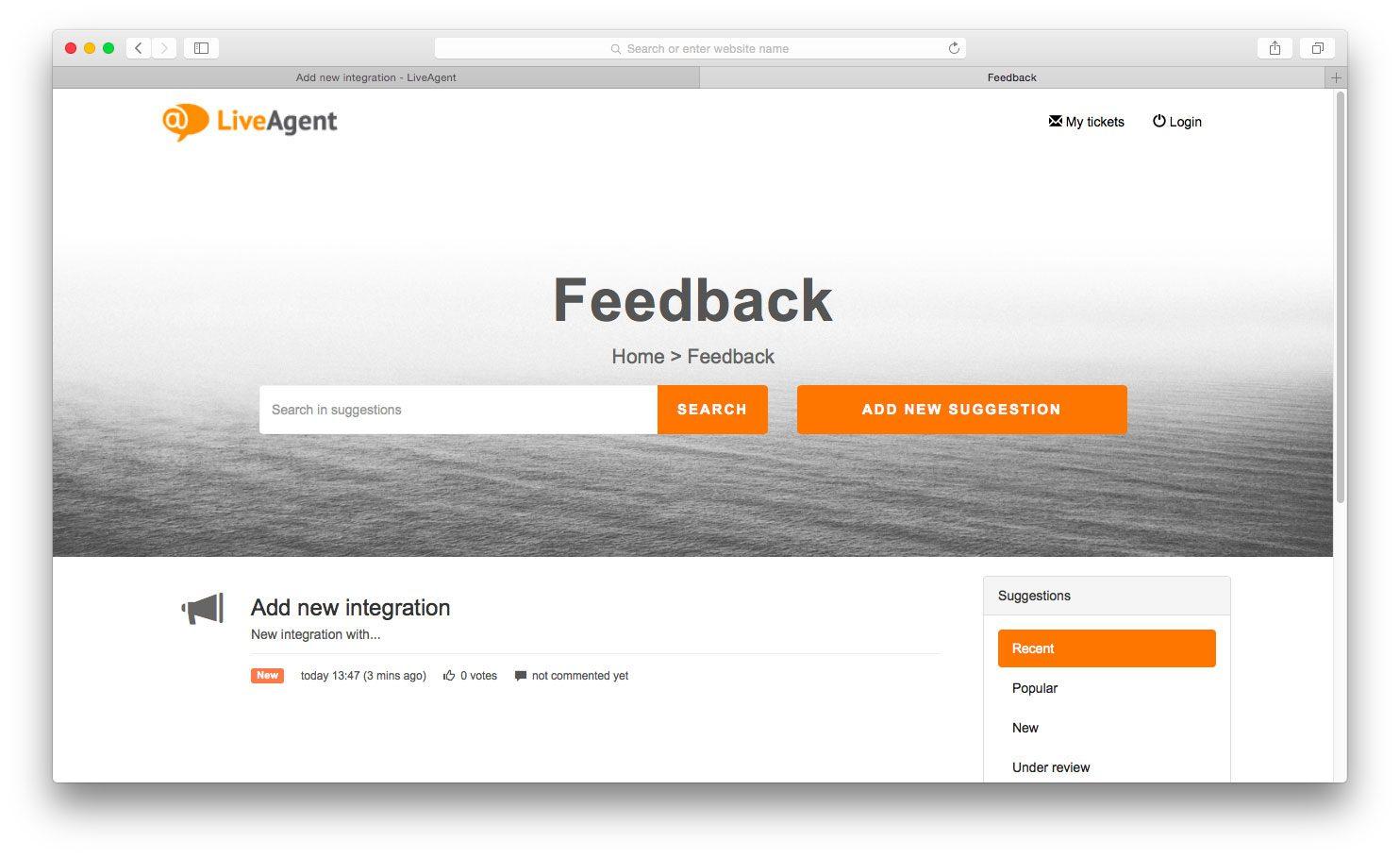customer service duties - collect feedback