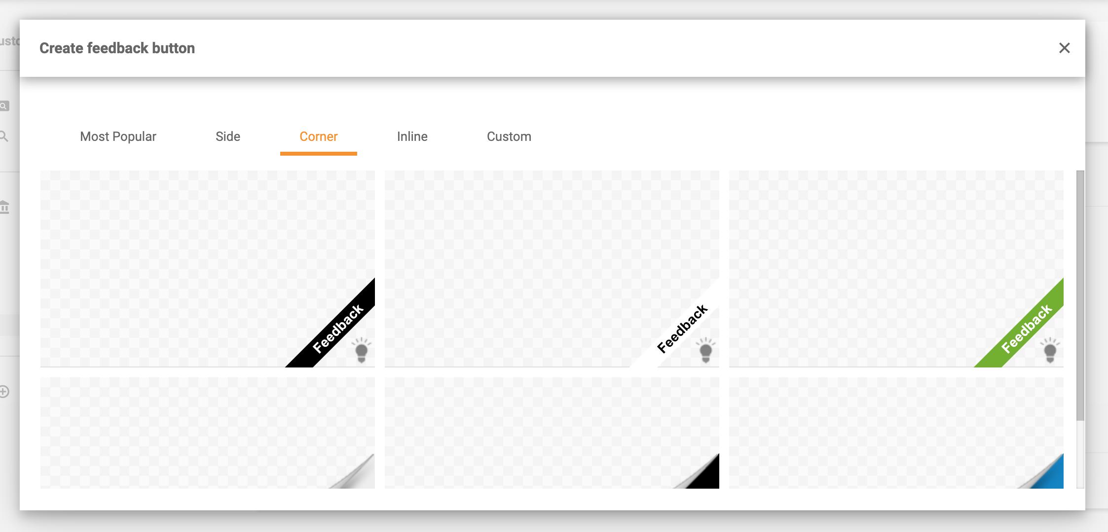 Feedback-button-styles-corner-LiveAgent