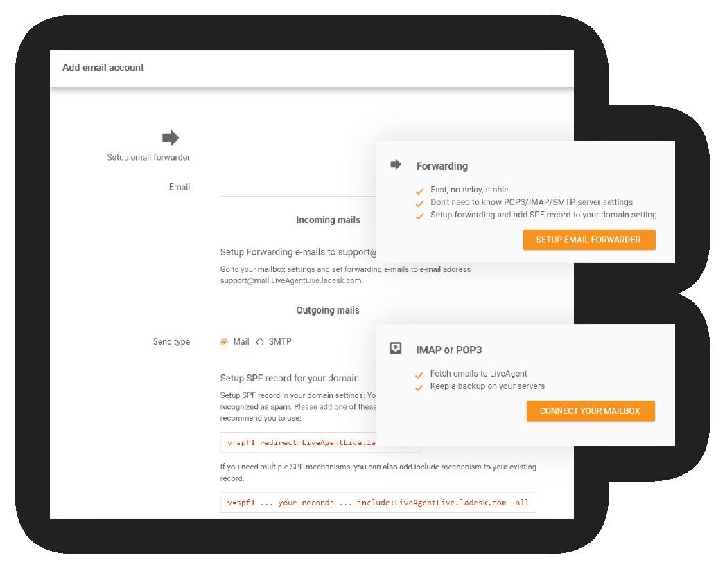 Forwarding-feature-LiveAgent
