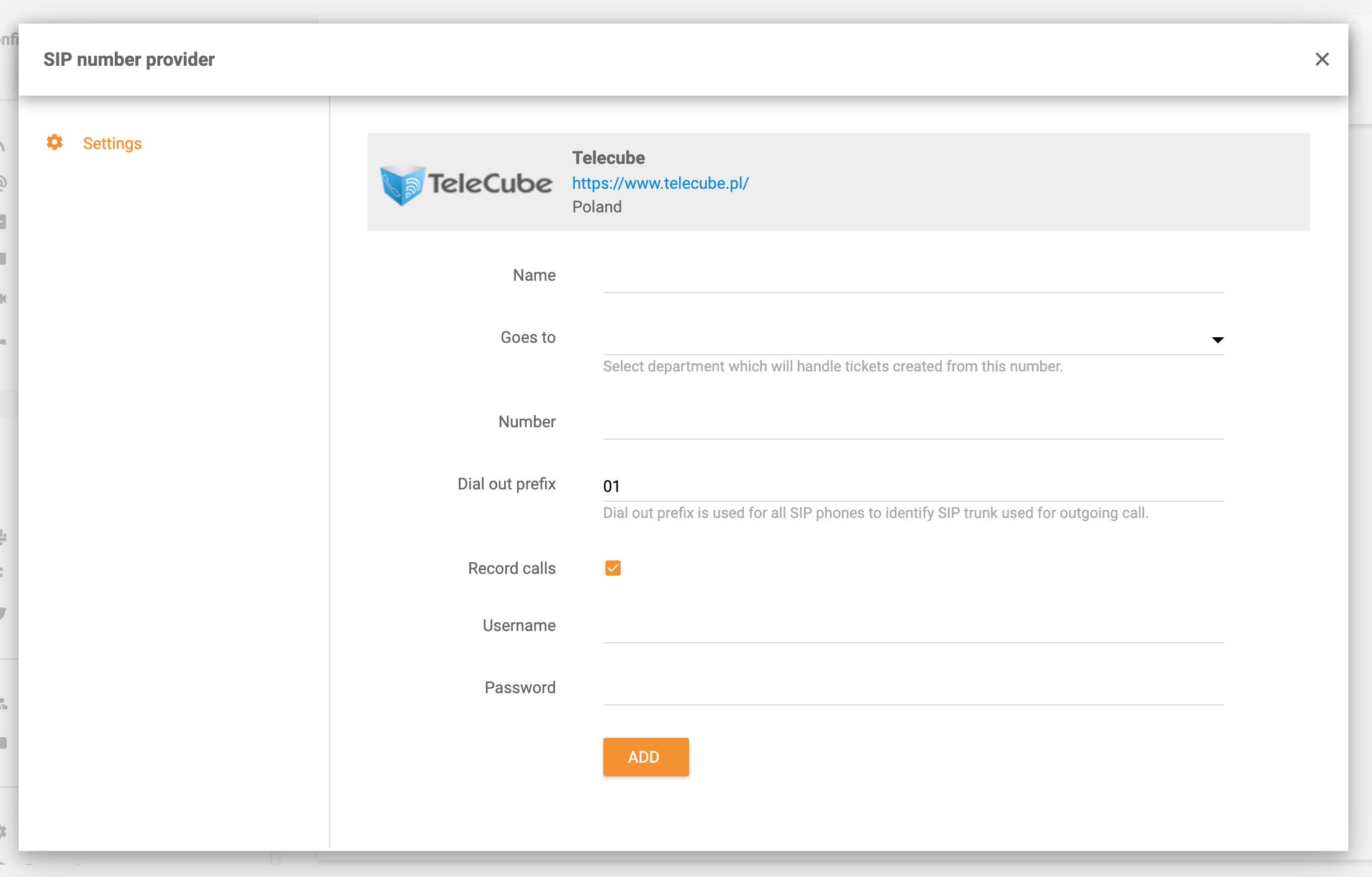 TeleCube-integration-in-LiveAgent
