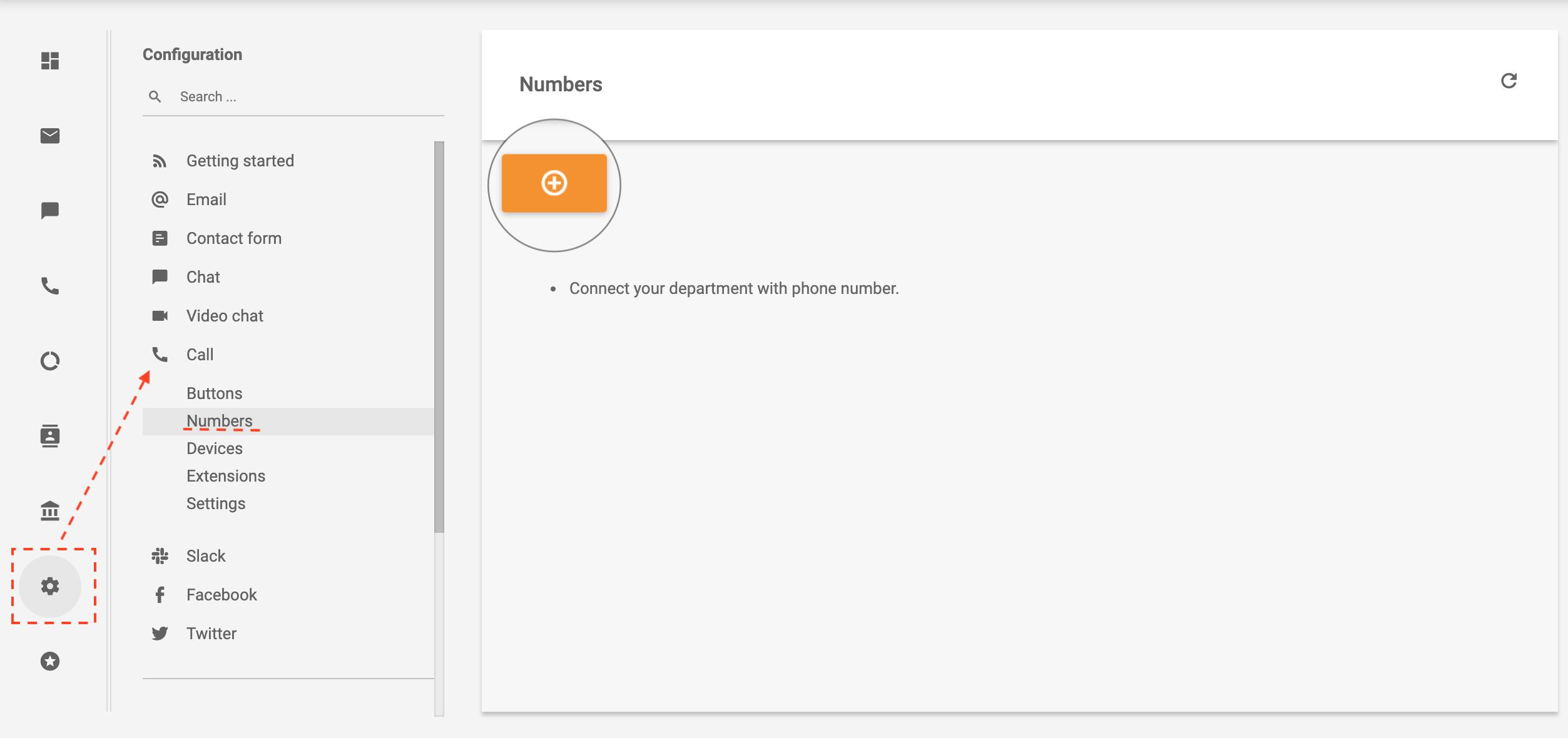 sipgate-navigation-LiveAgent
