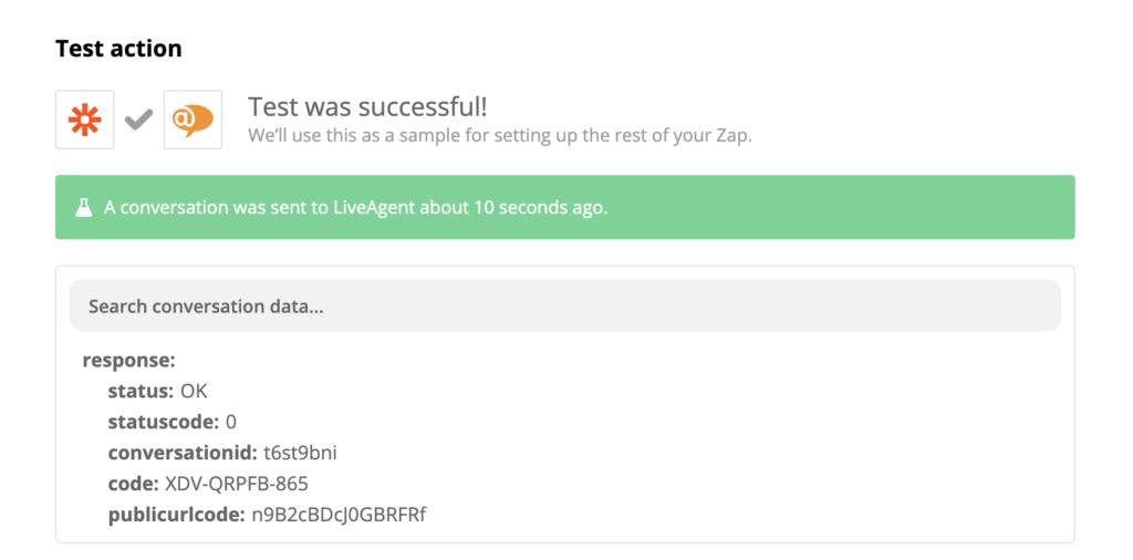 Um teste bem-sucedido de integração Stripe e LiveAgent