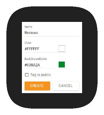 Función-de-modificar etiquetas-de-LiveAgent