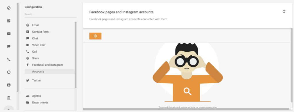 Instagram- és Facebook-fiók hozzáadása a LiveAgentben