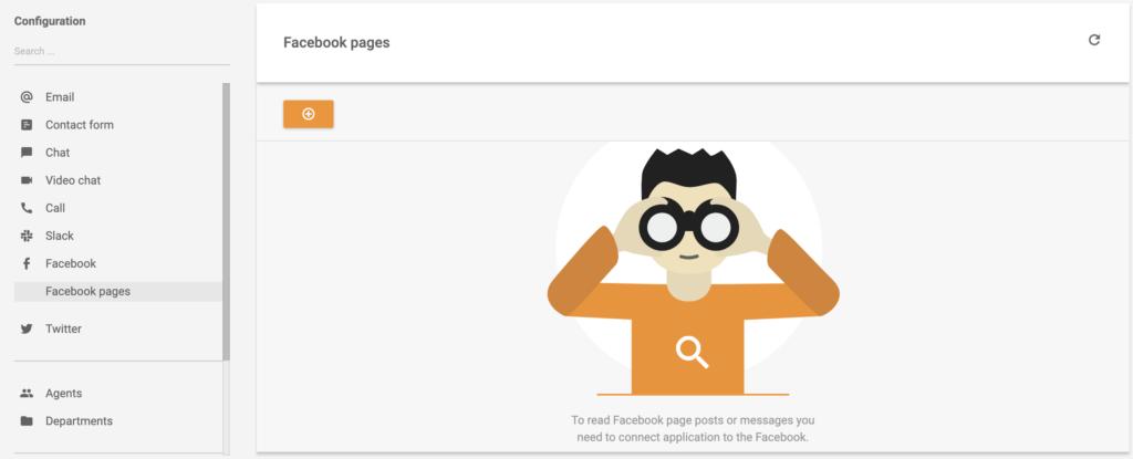 Kapcsolat létrehozása a Facebook-oldal és a LiveAgent között