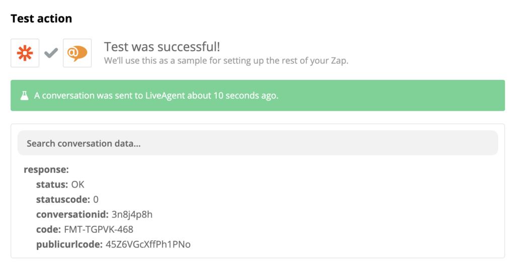 Facebook és LiveAgent integrációs teszt
