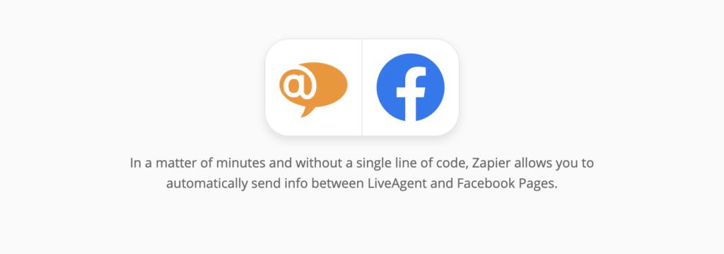 LiveAgent és Facebook integráció a Zapieren