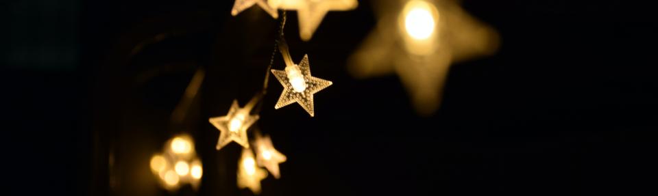 hanging light star chain