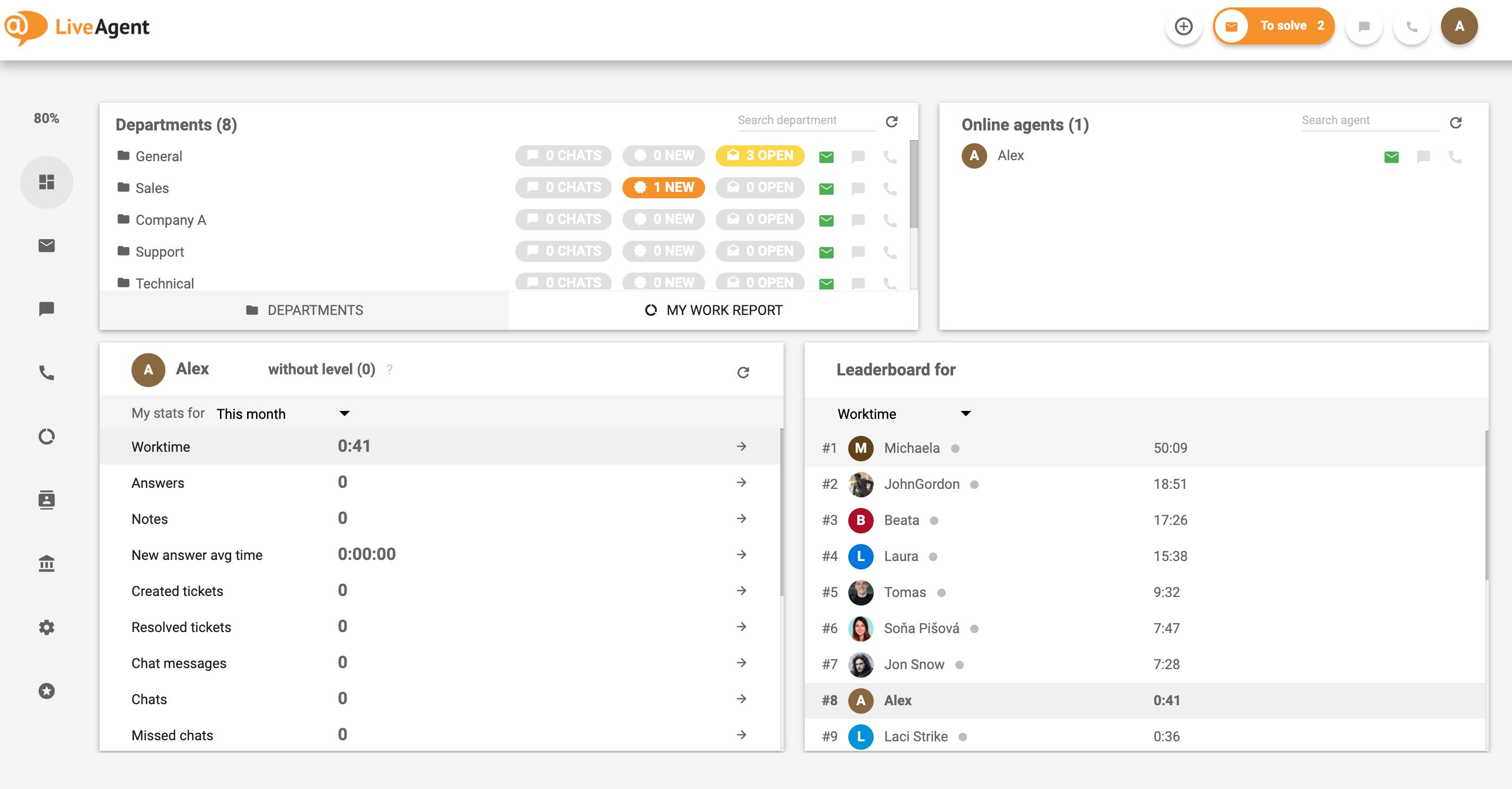 LiveAgent - Create customer value with help desk