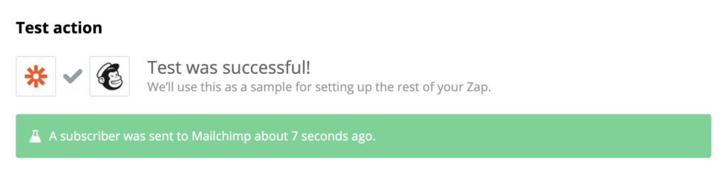 Тестирование интеграции Mailchimp и LiveAgent