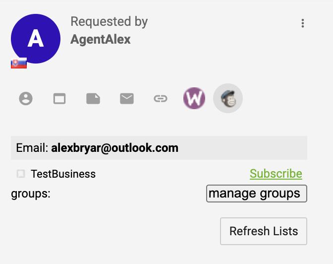 Расширение интеграции Mailchimp активно и функционирует в системе управления тикетами LiveAgent