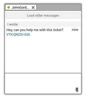 Tickets sharing